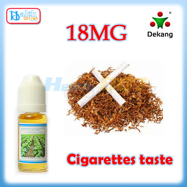 Dekang e-liquid Cigarette taste 10ml 18mg