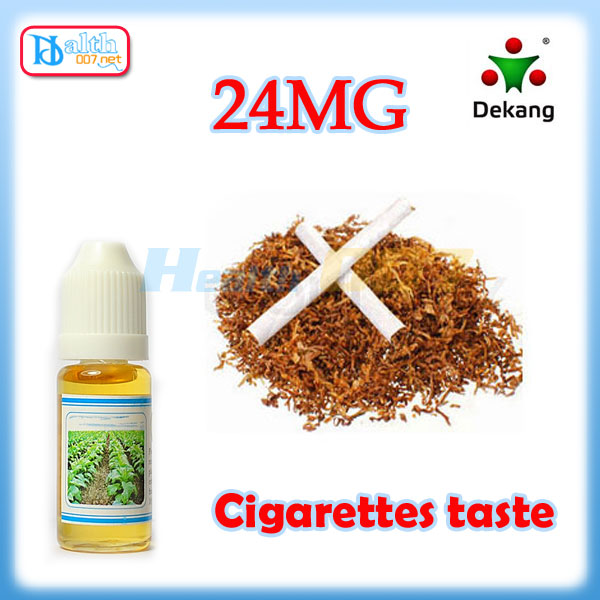 Dekang e-liquid Cigarette taste 10ml 24mg