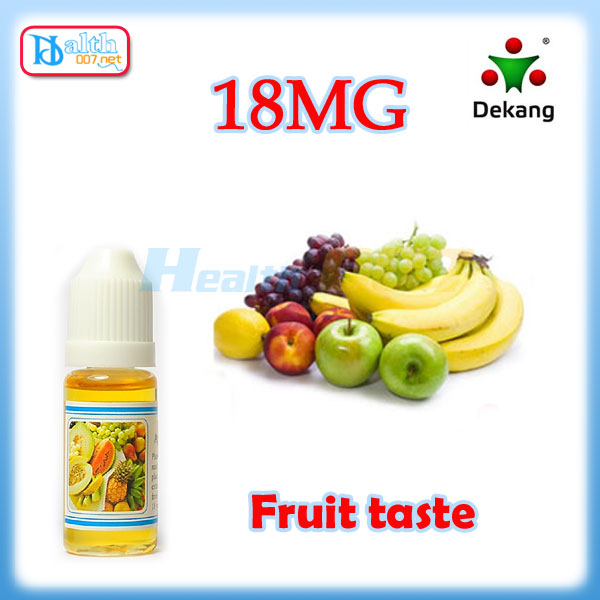 Dekang eliquid Fruit flavor 10ml 18mg