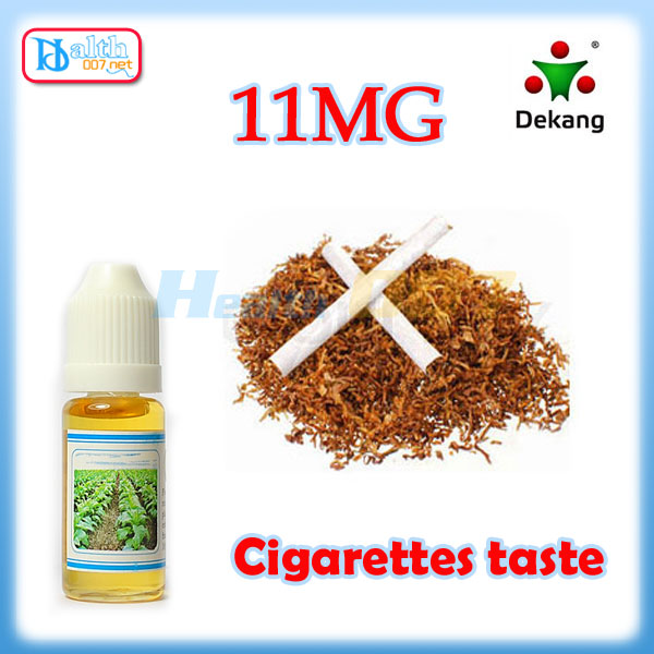 Dekang e-liquid Cigarette taste 10ml 11mg