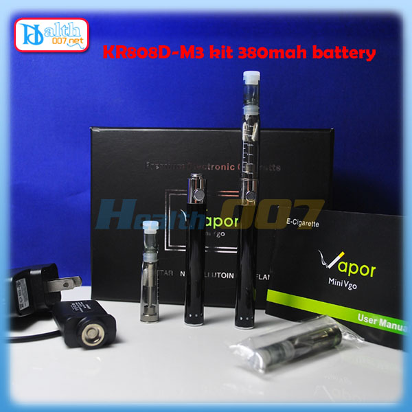 KR808D-M3 ecigarette kit black